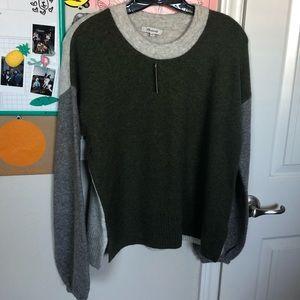 MW balloon sleeve sweater